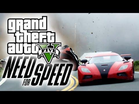 "GTA 5 ""NEED FOR SPEED"" TRAILER PARODY!"