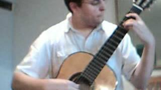Fernando Sor Etüde op.6 No.11, Allegro moderato
