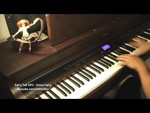 Fairy Tail OP1 - Snow Fairy (Piano)