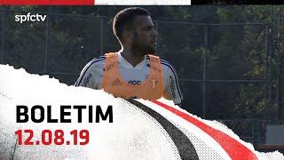 BOLETIM DE TREINO: 12.08   SPFCTV