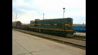 Diesel locomotives Nais Serbia series 661 dizel lokomotive Niska stanica