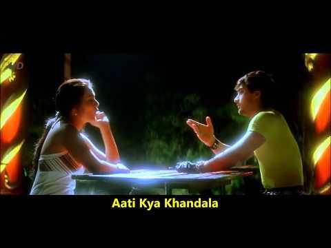 Aati Kya Khandala | Ghulam | Aamir Khan, Alka Yagnik | Jatin-Lalit | Sameer