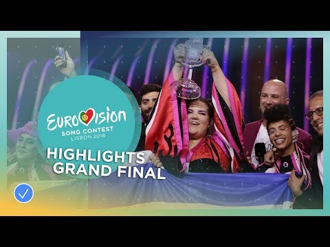 Highlights of Grand Final of the 2018 Eurovision Song Contest