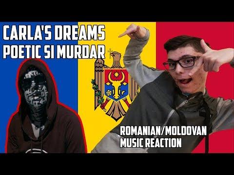 REACTION TO ROMANIAN/MOLDOVAN MUSIC - CARLA'S DREAMS - POETIC SI MURDAR