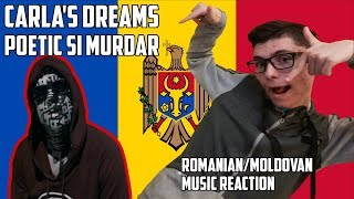 REACTION TO ROMANIANMOLDOVAN MUSIC - CARLA'S DREAMS - POETIC SI MURDAR