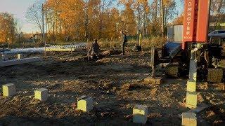 видео Подготовка участка к строительству дома своими руками