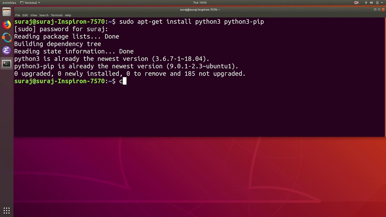 How To Install Python SQL Server PyMsSQL Client Library In Ubuntu Linux