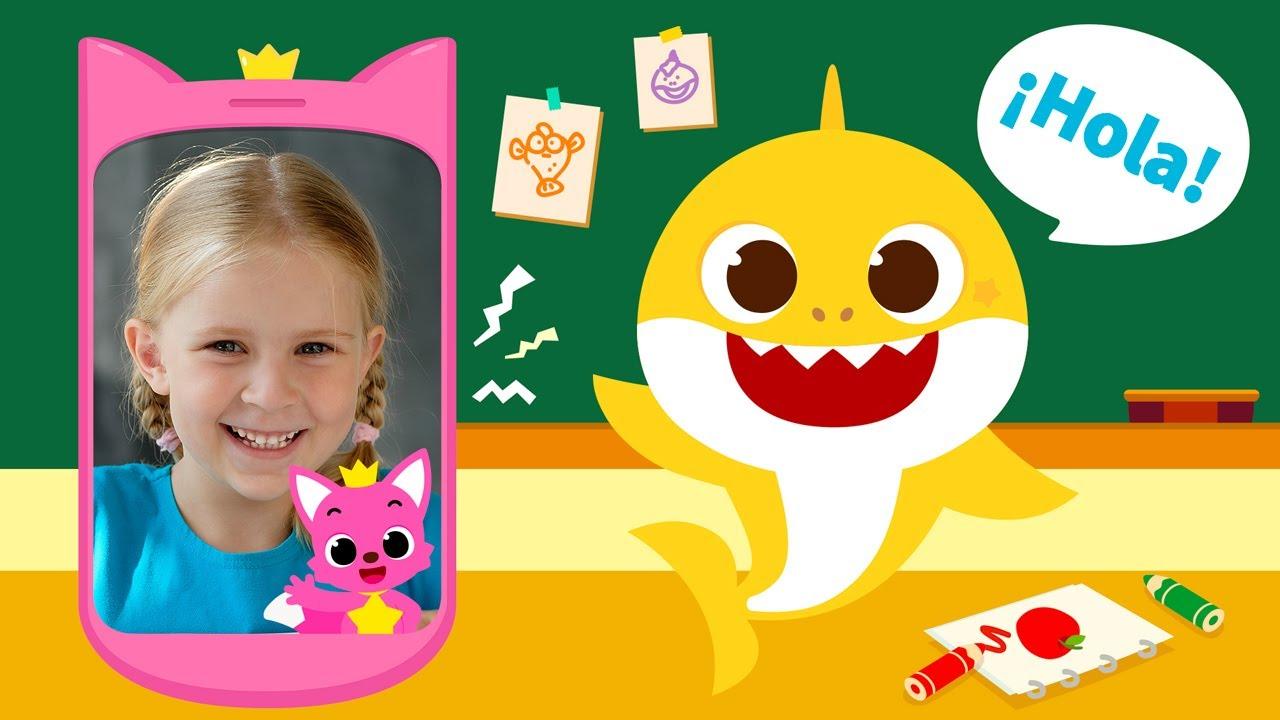 [Novedades] Pinkfong Tiburón Bebé Teléfono Cantante