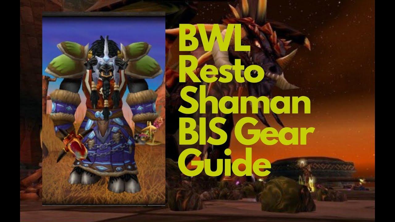 Shaman 3 resto Restoration Shaman
