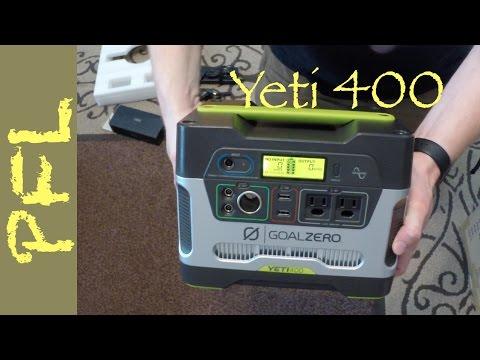 Goal Zero Yeti 400 Solar Generator (Unboxing and Review)