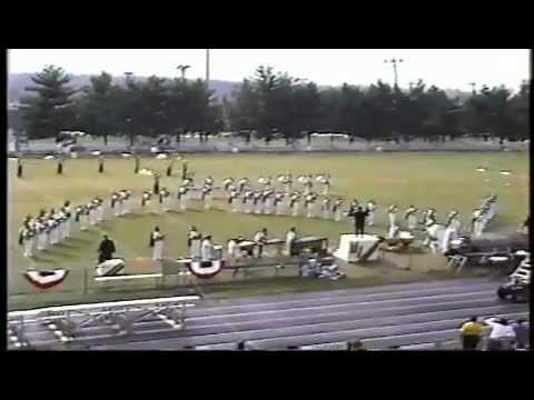 Mount Juliet High School Band at Music City Invitational 1993.