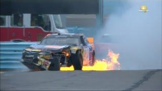 all nascar crashes from watkins glen 8 8 8 9 2015 live hd