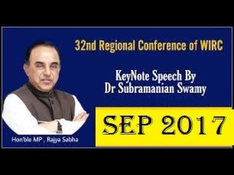 SUBRAMANIAN SWAMY'S BEST SPEECH ON INDIAN ECONOMY