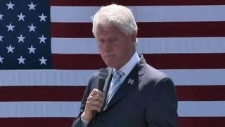 political insiders part 4 bill clinton faces hecklers