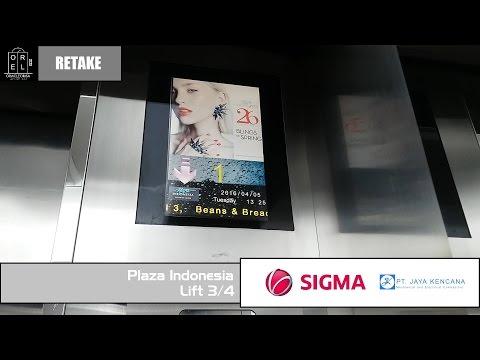 Retake Sigma Elevator at Plaza Indonesia (Lift 3/4)