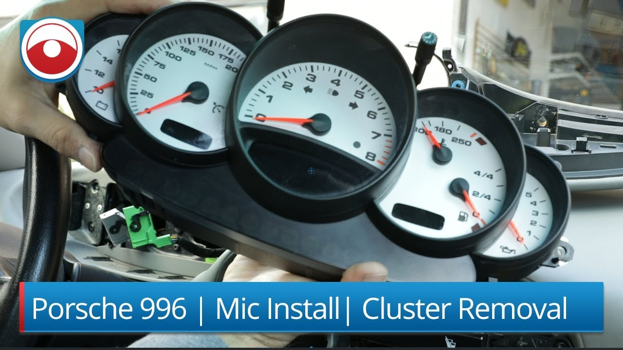 Porsche 996 Fuel Gauge Wiring Electrical Diagrams 1989 911 Diagram Cluster Removal Microphone Installation Youtube Sender