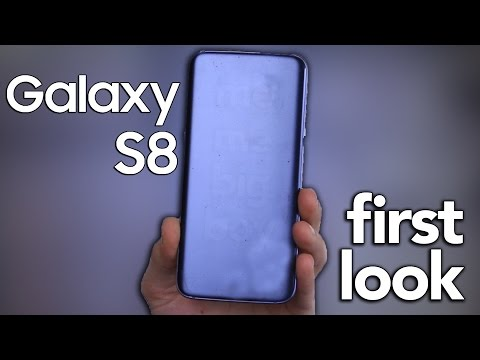 Galaxy S8 first look (parody)