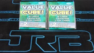 9 99 value cubes 40 cards 2 boosters 2 foil cards ultra rare foil cards in every cube best opening