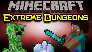 Minecraft EXTREME DUNGEONS Mod Spotlight - Better Dungeons! (Minecraft Mod Showcase)
