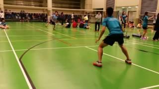 學界羽毛球比賽D3K2G2 蔡功譜vs將軍澳官立