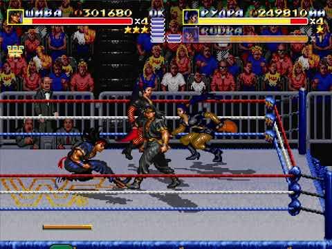 Streets of Rage Remake v5.1 - Mod WWF Wrestlemania remake part 1