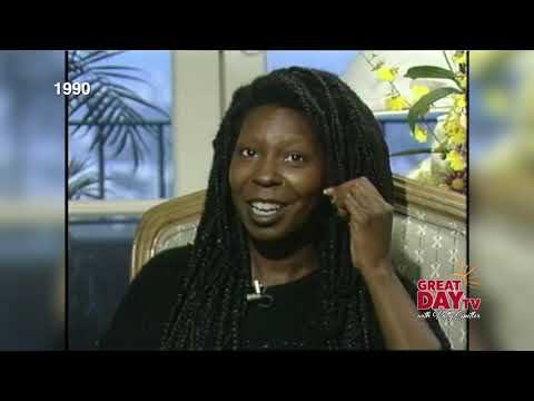 Download Flashback:  Whoopi and Patrick back in 1990 with Patty!