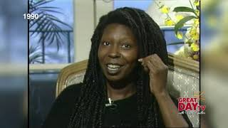 Flashback:  Whoopi and Patrick back in 1990 with Patty!