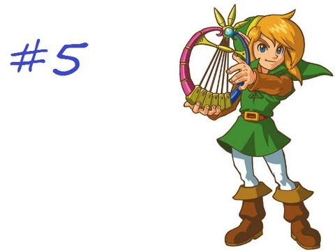 Let's Play Legend of Zelda: Oracle of Ages (Linked) #5 - Wing Dungeon