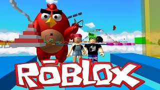 Roblox! ANGRY BIRDS OBBY! Avec Mini Muka! Amy Lee33