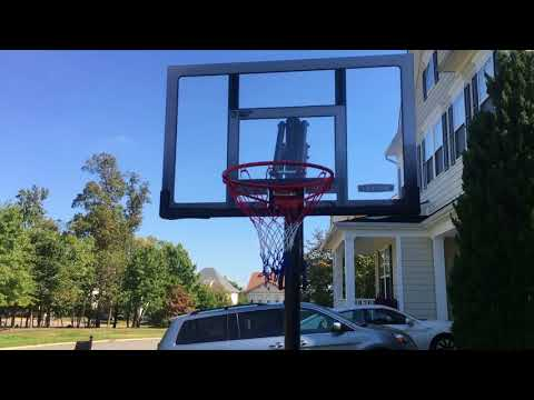 In Ground basketball hoop installation in Waldorf MD by Furniture Assembly Experts Company