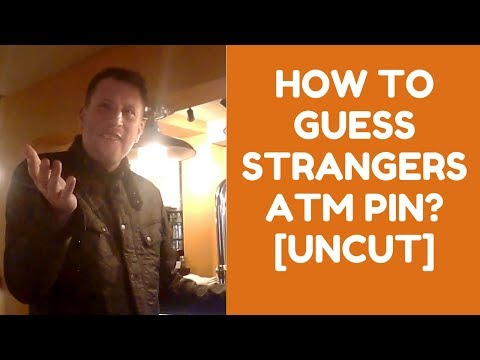 How to guess strangers ATM pin? | London | UNCUT Footage