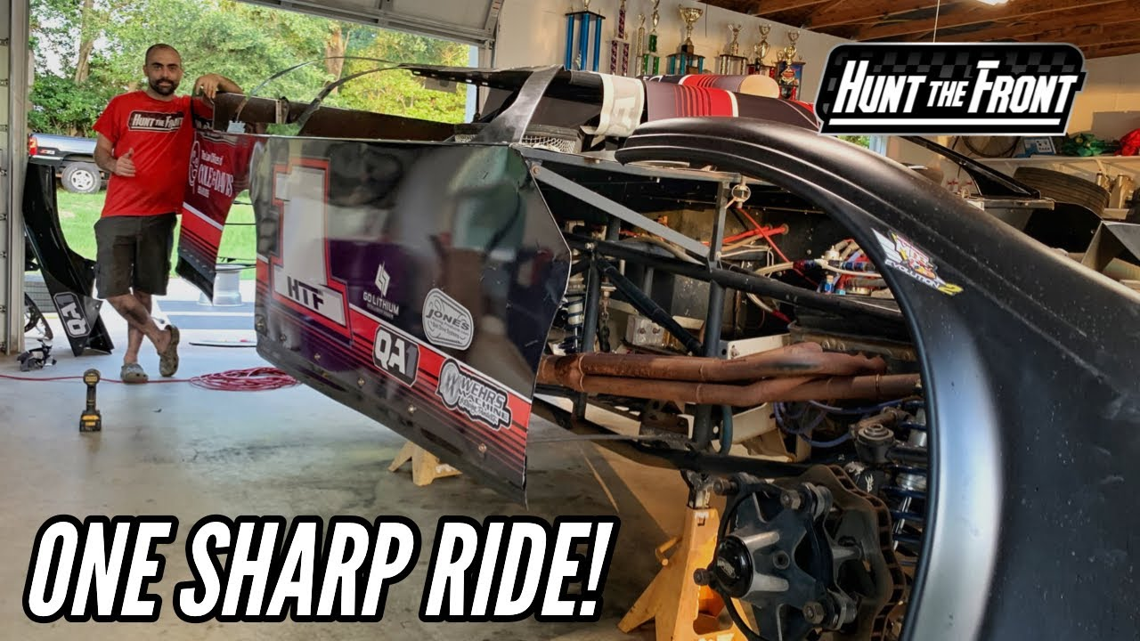 Jesse's New Body and Wrap! The HTF-1 is Looking Good and Ready to Go Racing