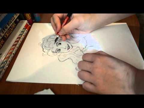Рисуй Со Мной! Мерида из Храбрая сердцем