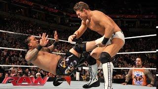 Jey Uso vs. The Miz: Raw, December 22, 2014