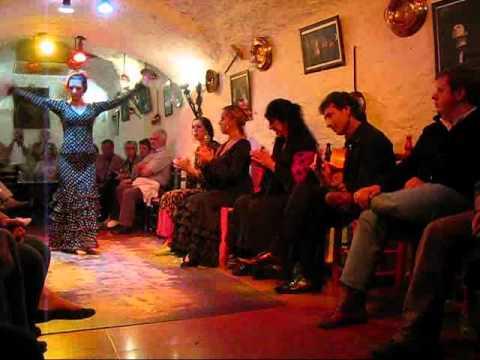 Granada, Andalucia - A Live Flamenco Show