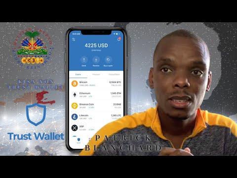 Trust Wallet - Explication : BTT - DENT - CRO -  Patrick Blanchard