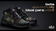 c7a3c2815 Bota Adventure Masculina   DED Calçados - Duration: 15 seconds.