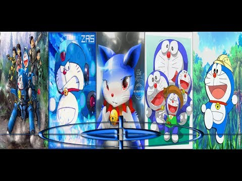 Doraemon Wallpaper Bergerak Dora Blue Cat Wallpaper 3d Live Hd Fanmade Youtube