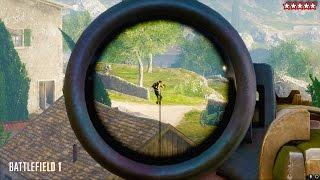 battlefield 1 sniper attack battlefield 1 sniper gameplay bf1 multiplayer gameplay