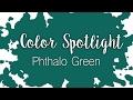 Color Spotlight: Phthalo Green / Watercolor Color Profile