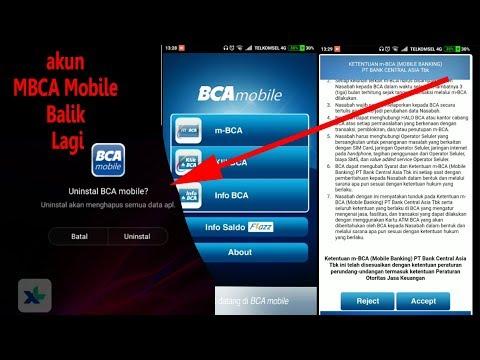 Cara mendaftar mobile banking bca lewat hp
