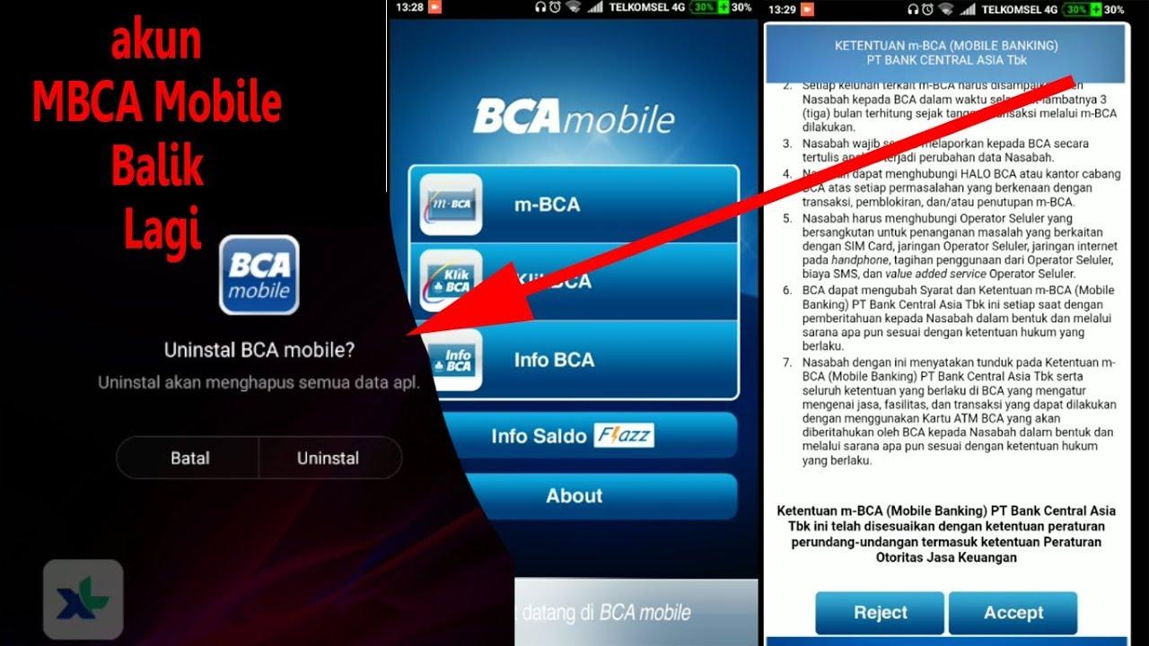 Cara Daftar Ulang Mbca Mobile Banking Solusi Untuk Mbanking Gagal Aktivasi Tidak Bisa Digunakan Youtube