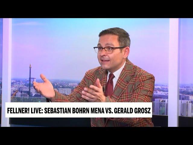 ÖVP/Grüne Regierung bereitete Österreich den größtmöglichen Schaden - Gerald Grosz in Fellner Live