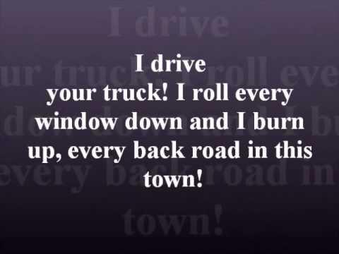 I Drive Your Truck  Lee Brice with lyrics