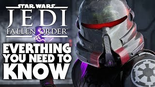 Star Wars Jedi: Fallen Order | Gameplay Breakdown, NOT Open World - EVERYTHING You Need to Know