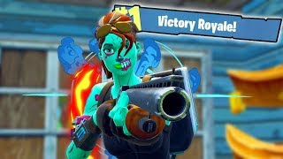 PRO FORTNITE PLAYER DOES RANDOM DUOS WITH KIDS! (Fortnite Gameplay)