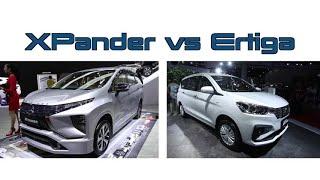 Perbandingan Spesifikasi Xpander dan Ertiga