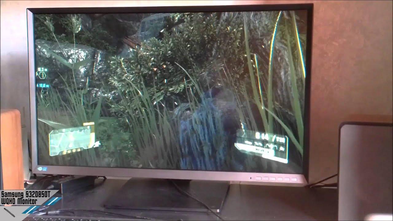 """Samsung 32"""" WQHD LED Monitor S32D850T"""