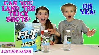 Flip Challenge- Bottle Flipping / JustJordan33