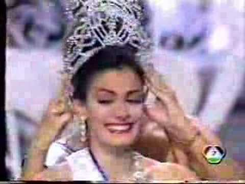 crowning moment miss universe 1993 youtube. Black Bedroom Furniture Sets. Home Design Ideas